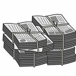 ごみ置き場の古新聞を持ち去ると窃盗罪となる?