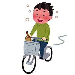 自転車の酒気帯び運転でも罰則規定があるのでしょうか?