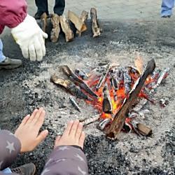 たき火も産廃法違反?