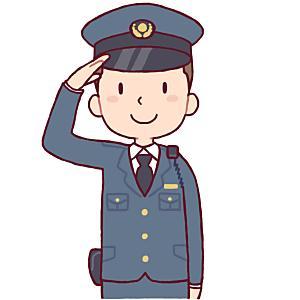 警察官は必ず敬礼するって本当?